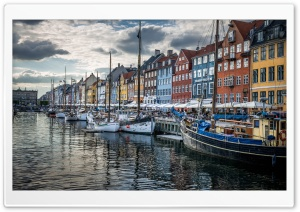 Copenhagen Denmark HD Wide Wallpaper for Widescreen