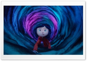 Coraline Cartoon HD Wide Wallpaper for Widescreen