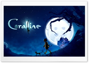 Coraline Movie HD Wide Wallpaper for Widescreen