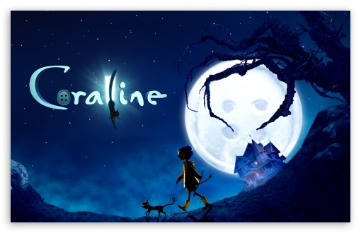 Coraline Movie HD wallpaper for Wide 16:10 5:3 Widescreen WHXGA WQXGA WUXGA WXGA WGA ; HD 16:9 High Definition WQHD QWXGA 1080p 900p 720p QHD nHD ; Other 3:2 DVGA HVGA HQVGA devices ( Apple PowerBook G4 iPhone 4 3G 3GS iPod Touch ) ; Mobile WVGA iPhone PSP - WVGA WQVGA Smartphone ( HTC Samsung Sony Ericsson LG Vertu MIO ) HVGA Smartphone ( Apple iPhone iPod BlackBerry HTC Samsung Nokia ) Sony PSP Zune HD Zen ;