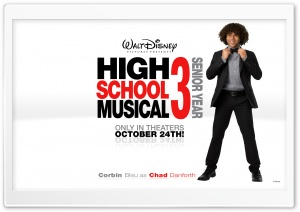 Corbin Bleu As Chad Danforth High School Musical HD Wide Wallpaper for Widescreen