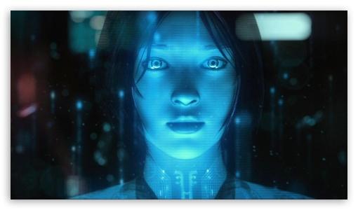 Download Cortana Halo HD Wallpaper