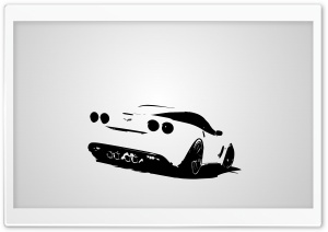 Corvette HD Wide Wallpaper for Widescreen