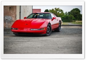 Corvette C4 zr-1 HD Wide Wallpaper for Widescreen