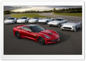 Corvette Cars HD Wide Wallpaper for Widescreen