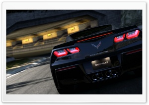 Corvette Race HD Wide Wallpaper for Widescreen