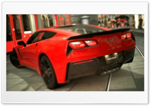 Corvette Stingray C7 2014 HD Wide Wallpaper for Widescreen