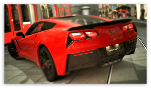 Corvette Stingray C7 2014 HD wallpaper for HD 16:9 High Definition WQHD QWXGA 1080p 900p 720p QHD nHD ; UHD 16:9 WQHD QWXGA 1080p 900p 720p QHD nHD ; Mobile 16:9 - WQHD QWXGA 1080p 900p 720p QHD nHD ;