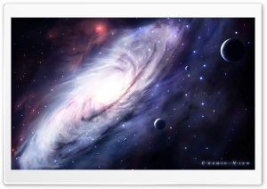 Cosmic View HD Wide Wallpaper for Widescreen