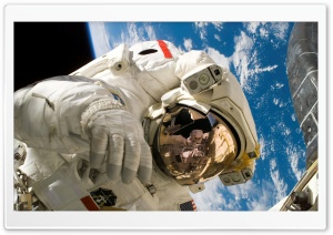Cosmonaut HD Wide Wallpaper for Widescreen