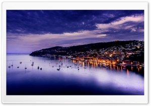 Cote dAzur, France HD Wide Wallpaper for Widescreen