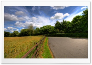 Countryside Road HD Wide Wallpaper for Widescreen