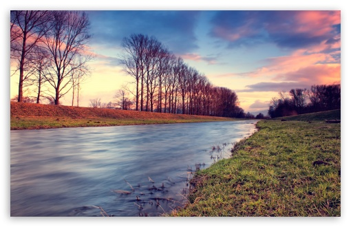 Countryside Stream At Sunset HD wallpaper for Wide 16:10 5:3 Widescreen WHXGA WQXGA WUXGA WXGA WGA ; HD 16:9 High Definition WQHD QWXGA 1080p 900p 720p QHD nHD ; Standard 4:3 5:4 3:2 Fullscreen UXGA XGA SVGA QSXGA SXGA DVGA HVGA HQVGA devices ( Apple PowerBook G4 iPhone 4 3G 3GS iPod Touch ) ; Tablet 1:1 ; iPad 1/2/Mini ; Mobile 4:3 5:3 3:2 16:9 5:4 - UXGA XGA SVGA WGA DVGA HVGA HQVGA devices ( Apple PowerBook G4 iPhone 4 3G 3GS iPod Touch ) WQHD QWXGA 1080p 900p 720p QHD nHD QSXGA SXGA ;