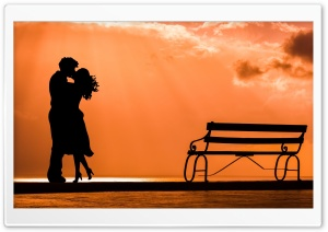 Couple In Love HD Wide Wallpaper for Widescreen