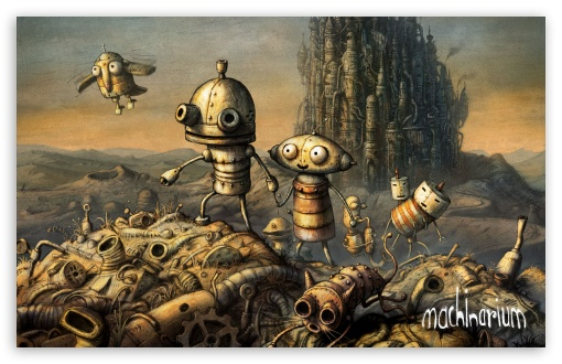 Cover, Machinarium Game HD wallpaper for Wide 16:10 5:3 Widescreen WHXGA WQXGA WUXGA WXGA WGA ; HD 16:9 High Definition WQHD QWXGA 1080p 900p 720p QHD nHD ; Standard 4:3 5:4 3:2 Fullscreen UXGA XGA SVGA QSXGA SXGA DVGA HVGA HQVGA devices ( Apple PowerBook G4 iPhone 4 3G 3GS iPod Touch ) ; iPad 1/2/Mini ; Mobile 4:3 5:3 3:2 16:9 5:4 - UXGA XGA SVGA WGA DVGA HVGA HQVGA devices ( Apple PowerBook G4 iPhone 4 3G 3GS iPod Touch ) WQHD QWXGA 1080p 900p 720p QHD nHD QSXGA SXGA ;