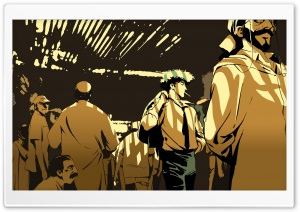 Cowboy Bebop - Crowd HD Wide Wallpaper for Widescreen