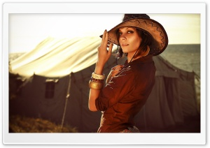 Cowgirl HD Wide Wallpaper for Widescreen
