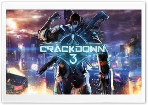 Crackdown 3 Video Game 2017 HD Wide Wallpaper for 4K UHD Widescreen desktop & smartphone