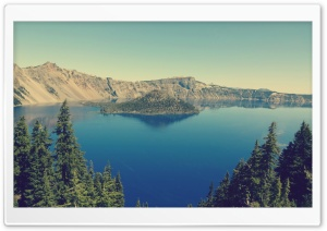 Crater Lake, Oregon HD Wide Wallpaper for 4K UHD Widescreen desktop & smartphone
