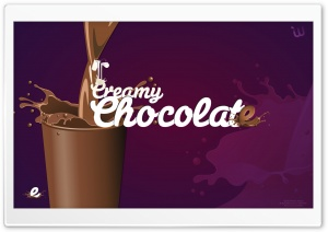 Creamy Chocolate HD Wide Wallpaper for 4K UHD Widescreen desktop & smartphone