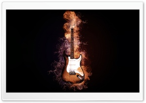 Creative Electric Guitar HD Wide Wallpaper for 4K UHD Widescreen desktop & smartphone