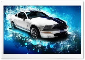 Creative Ford Mustang GT HD Wide Wallpaper for Widescreen