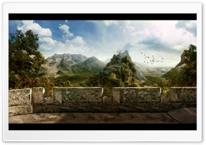 Creative Landscape Ultra HD Wallpaper for 4K UHD Widescreen desktop, tablet & smartphone