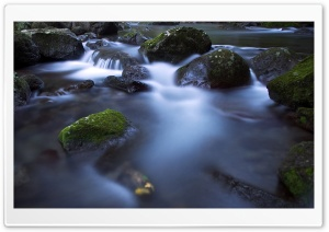 Creek Long Exposure HD Wide Wallpaper for 4K UHD Widescreen desktop & smartphone