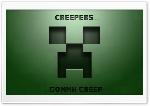 Creepers Gonna Creep... HD Wide Wallpaper for Widescreen