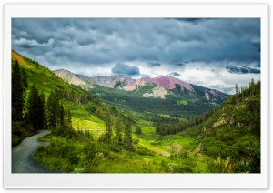 Crested Butte Gothic Road HD Wide Wallpaper for Widescreen