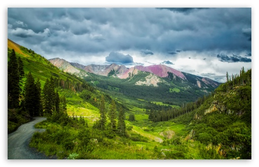Download Crested Butte Gothic Road HD Wallpaper