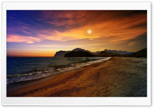 Crimea Beach HD Wide Wallpaper for Widescreen