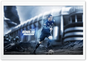 Cristiano Ronaldo - El Comandante HD Wide Wallpaper for Widescreen