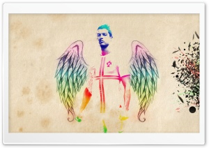 Cristiano Ronaldo Angel HD Wide Wallpaper for Widescreen