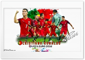 CRISTIANO RONALDO EURO 2016 HD Wide Wallpaper for 4K UHD Widescreen desktop & smartphone