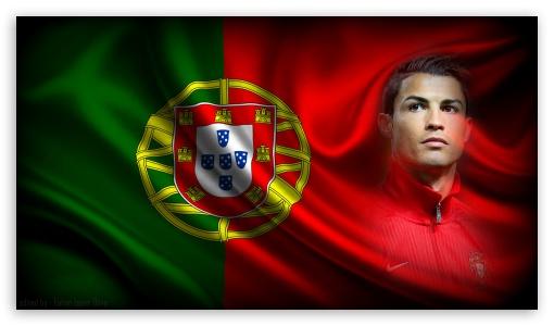 Cristiano Ronaldo, Portugal Ultra HD Desktop Background