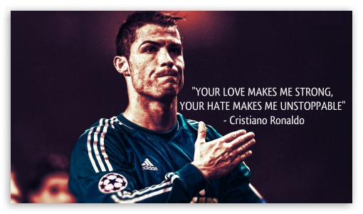 Marvelous Download Cristiano Ronaldo Quote HD Wallpaper
