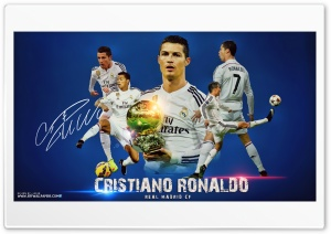 CRISTIANO RONALDO REAL MADRID 2015 HD Wide Wallpaper for 4K UHD Widescreen desktop & smartphone