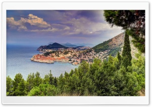 Croatia Coast Dubrovnik HD Wide Wallpaper for Widescreen