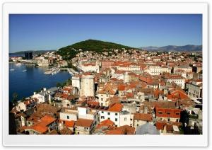 Croatia Red Roofs Ultra HD Wallpaper for 4K UHD Widescreen desktop, tablet & smartphone