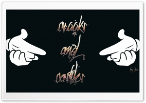 Crooks and Castles HD Wide Wallpaper for Widescreen