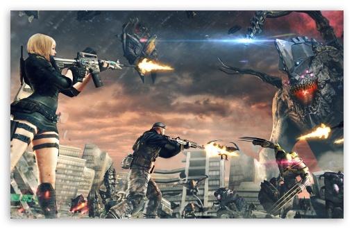Download CrossFire Devastated City UltraHD Wallpaper