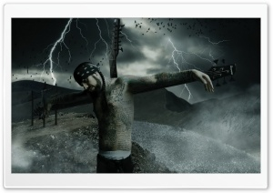 Crucified HD Wide Wallpaper for Widescreen