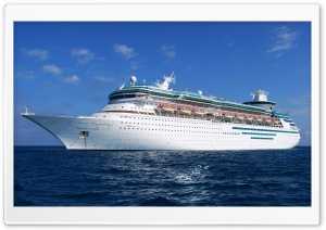 Cruise Ship Journey HD Wide Wallpaper for Widescreen