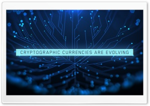 Cryptocurrency Ultra HD Wallpaper for 4K UHD Widescreen desktop, tablet & smartphone