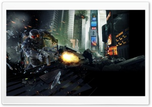 Crysis 2 - Nvidia Geforce Gtx 560 Ti HD Wide Wallpaper for Widescreen