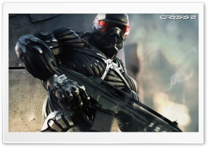 Crysis 2 Game HD Wide Wallpaper for 4K UHD Widescreen desktop & smartphone