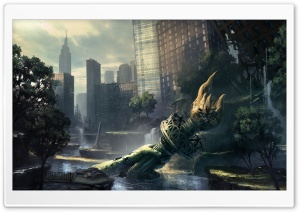 Crysis 2 New York HD Wide Wallpaper for Widescreen