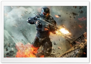 Crysis 2 Shooter Video Game HD Wide Wallpaper for Widescreen