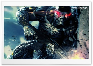 Crysis 2 Video Game HD Wide Wallpaper for Widescreen
